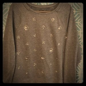 Large Beaded Sweater